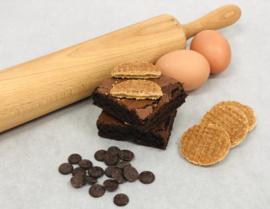 Stroopwafel Brownies 8 of 16 stuks