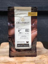 Chocoladedruppels Callebaut puur