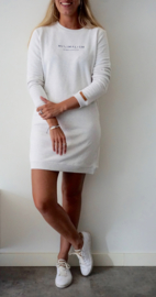 Minimalism Dress | Cream White