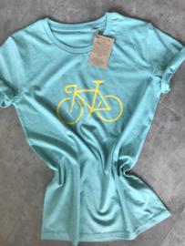 Organic Cycling T-shirt | Bianchi style |Men