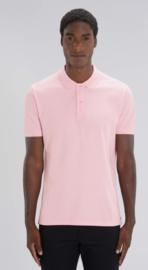 Organic Men Polo | Baby Pink