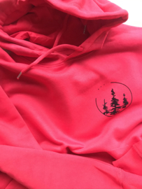 Hoodie Bright Red | Forest