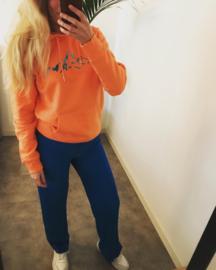 Unisex Hoodie | Orange Mountain Color