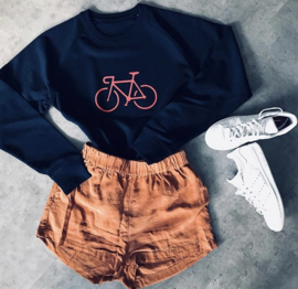 Bike Pink | Dark Blue