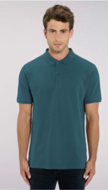Men Organic Polo | Petrol