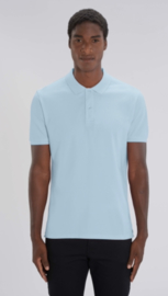 Organic Men Polo | Baby Blue