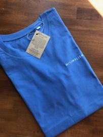 Minimalism t-shirt - Summer Blue