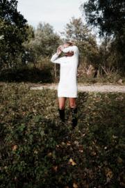 Minimalism Dress | Cream White