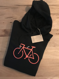 Bike| Hoodie Black Loosefit