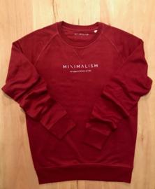 Woman Sweater Bordeaux | Minimalism