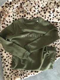 Minimalism Dress | Khaki Leopard