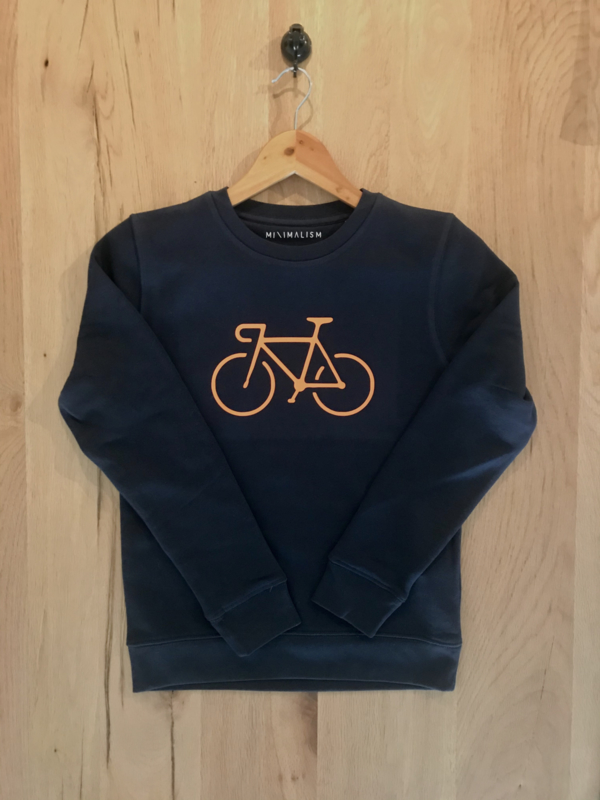 Organic Kids  Sweater Blue | Sunset Bike