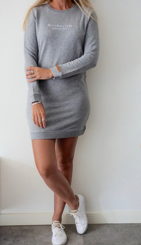 Minimalism Dress | Grey