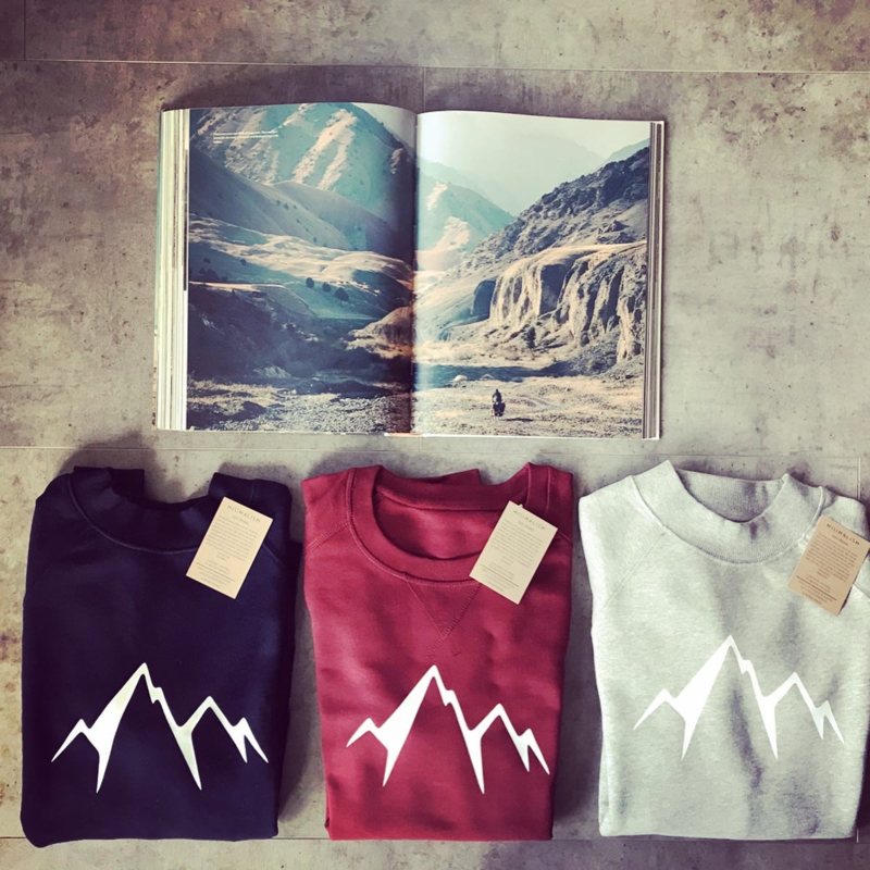 In to the Mountains   Choose your favorite colour