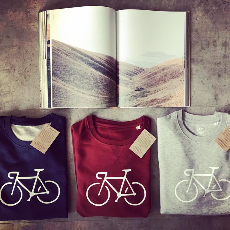Organic Kids Bike Sweater