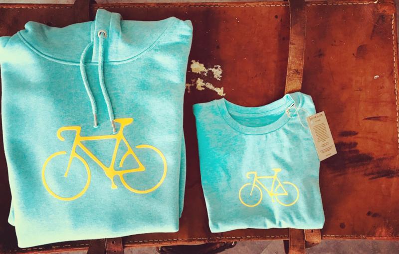 Organic Cycling T-shirt | Bianchi Style