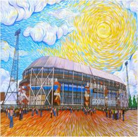 Complete serie Rotterdam Als Van Gogh - 50 x 50 cm / 50 x 70 cm