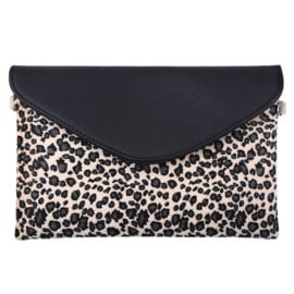The LEOPARD bag beige