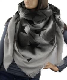 Sjaal Ster Zwart