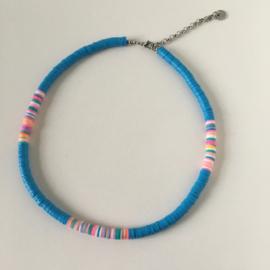 Surfernecklace Blauw
