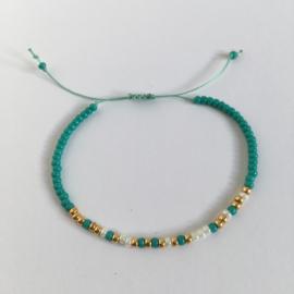Morse Super Juf turquoise