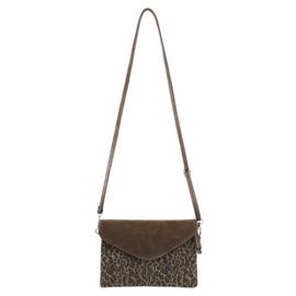 The LEOPARD bag bruin