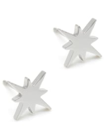Northern star studs rvs zilver