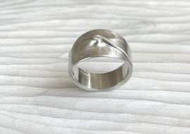 Leen Heyne zilveren ring