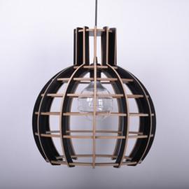 Hanglamp 'Globe' semi black - De Lingehof