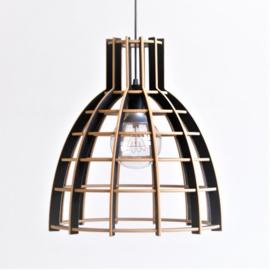 Hanglamp 'Cone' semi black - De Lingehof