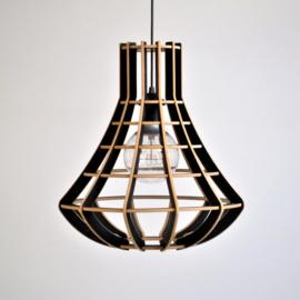 Hanglamp 'Luster' semi black - De Lingehof