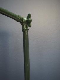 Groene retro tafellamp
