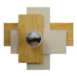 Wandlamp inclusief kopspiegellamp Ø 95 mm