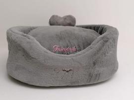 Eh Gia Plush bed Grey