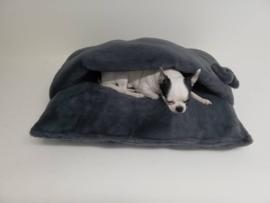 Trapetonne winter Grey plush