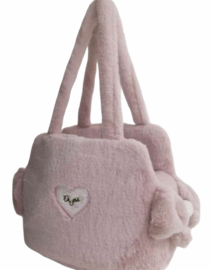 Eh Gia Sofficiosa Eco fur bag Pink 2