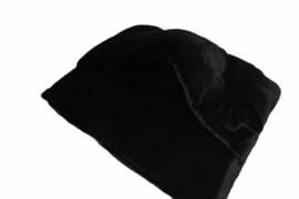 Trapetonne winter Black plush