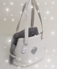 Eh Gia Fair Bag Aqua White
