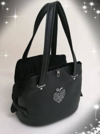 Eh Gia Fair Bag Black Heart