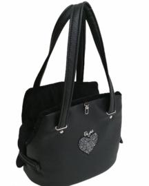 Eh Gia Fair Bag Black Heart