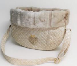 Walking Bag Winter Theo Cream+ Cipria