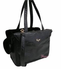 Eh gia Passenger bag Croco Black