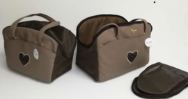 Eh Gia Summer Bag Square Brown 1