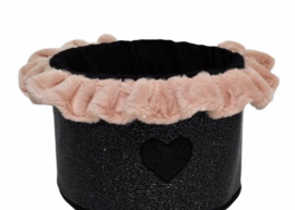 Eh Gia Toy Box Hearts Moza black + Pink
