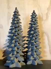 Kerstboom oudgroen, 30 x 17 cm (massief)