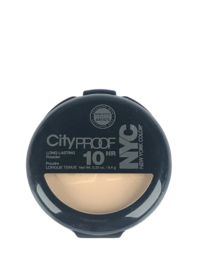 NYC Cityproof Longlasting Powder 704 Warm Beige