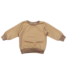 Sweater   Mokka   Handmade