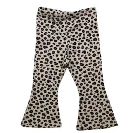 Flared Pants   Mini Leopard   Handmade