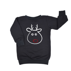 Baggy Sweaterdress | Funny Rudolph