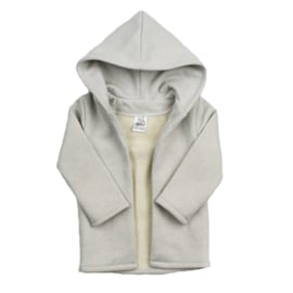 Hoodie vest | Glitter Snow | Handmade